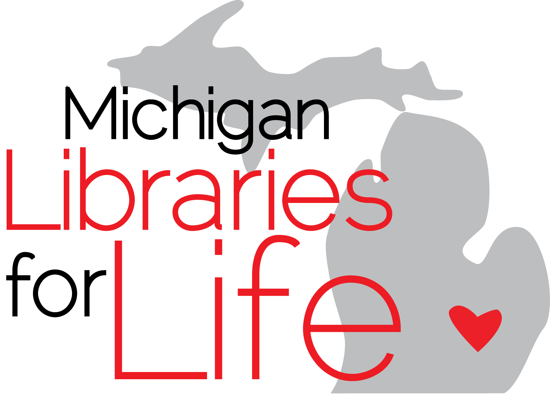 Libraries for Life Logo
