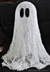 Ghost made of cheesecloth