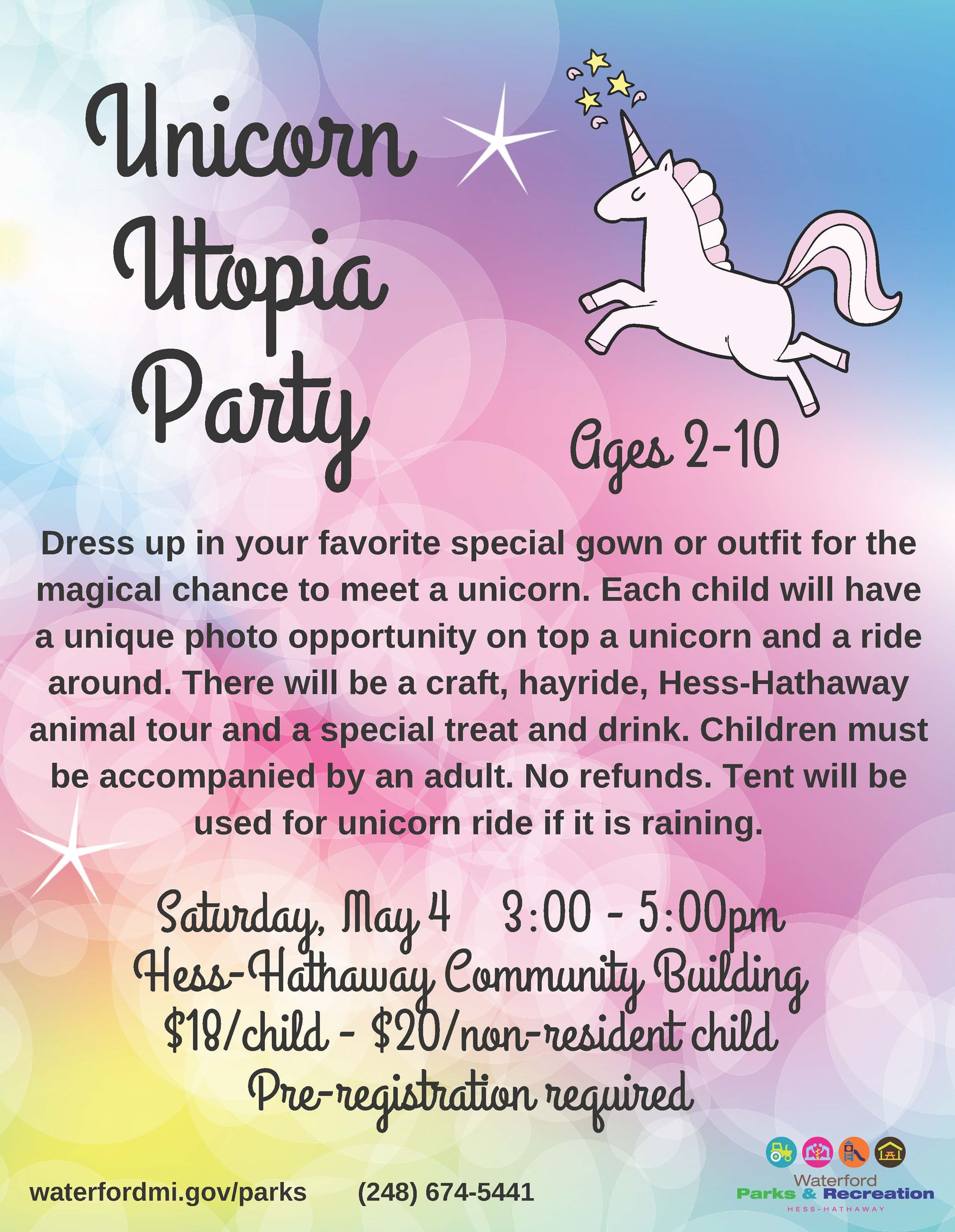 Unicorn Flyer - May 2019