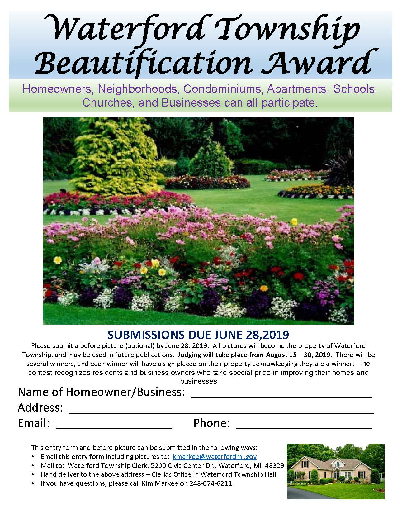 Waterford Twp Beautification 1a