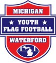 Michigan Youth Flag Football Waterford logo