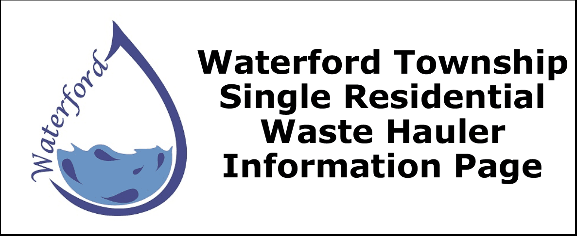 Single Residential Waste Hauler Information Page