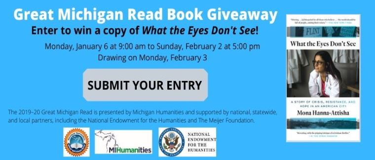 Great Michigan Read Book Giveaway