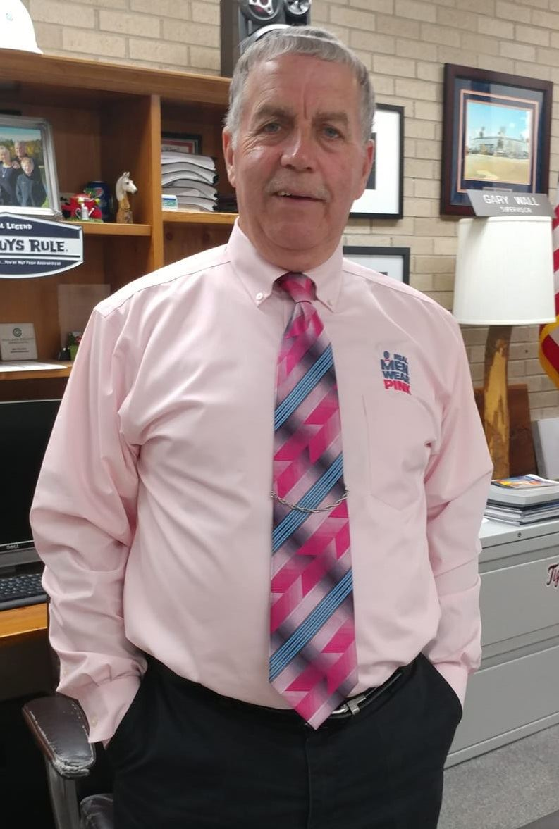 Gary Wall Real Men Wear Pink