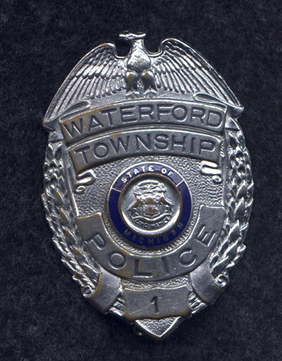 Police Badge Series Breast Badge
