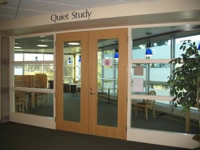 Quiet Study Room Entrance