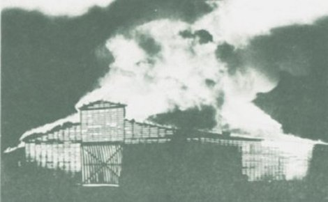 Fire at Waterford Lumber (1942)