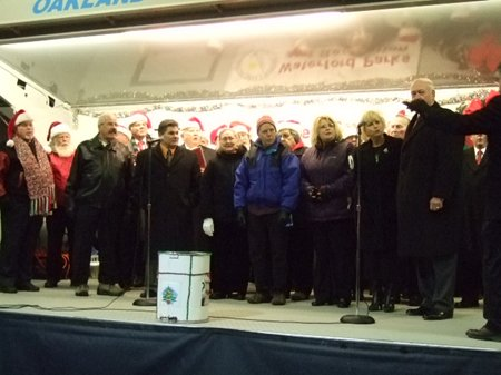 A group of carollers