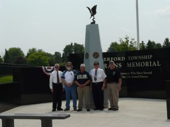 Waterford Township Veterans Memorial Dedication 1