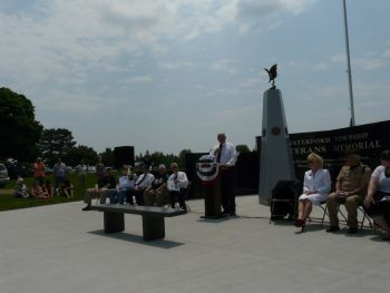 Waterford Township Veterans Memorial Dedication 12