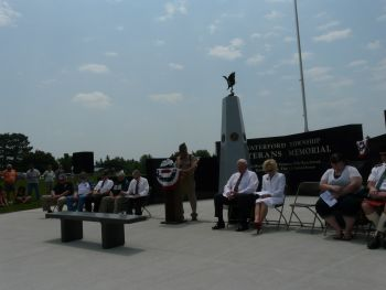 Waterford Township Veterans Memorial Dedication 13