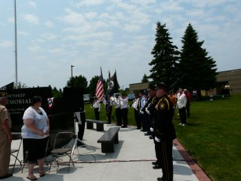 Waterford Township Veterans Memorial Dedication 15