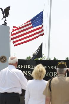 Waterford Township Veterans Memorial Dedication 17