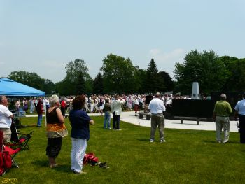 Waterford Township Veterans Memorial Dedication 3