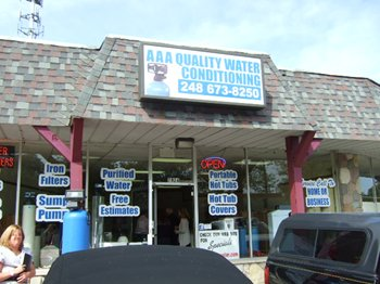 AAA Quality Water Conditioning Building