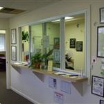 Front desk of Perfect Solutions, Inc.
