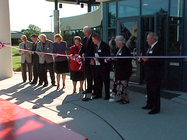 The ribbon is cut