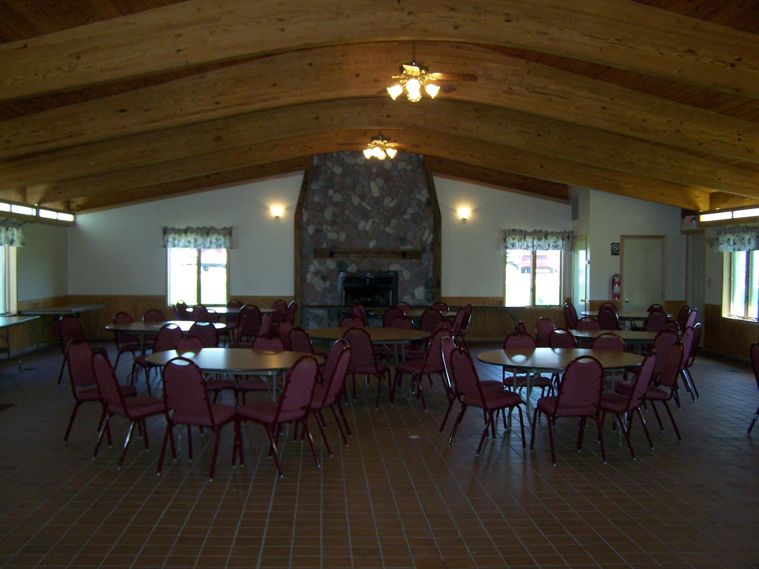 Community Bldg inside