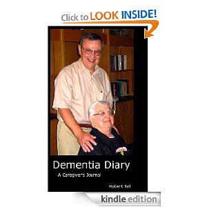 "The book cover of ""Dementia Diary."""