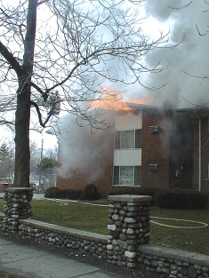 Partician Apartments Fire