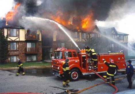 Rivers Edge Apartments Fire (1988)