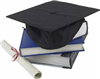 scholarship cap and books.png